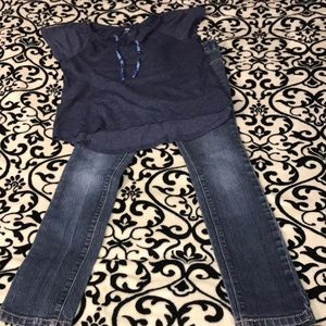 Adorable EUC girls size 7 Old Navy Outfit